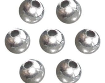 6mm Silver Pearl Beads (750pc)
