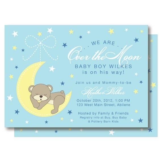Create Baby Shower Invites for best invitation template