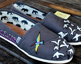 Hope for Tomorrow custom TOMS shoes