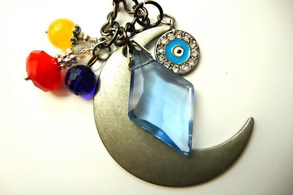 Prince Dimande/Diamond & Sailor Moon Necklace