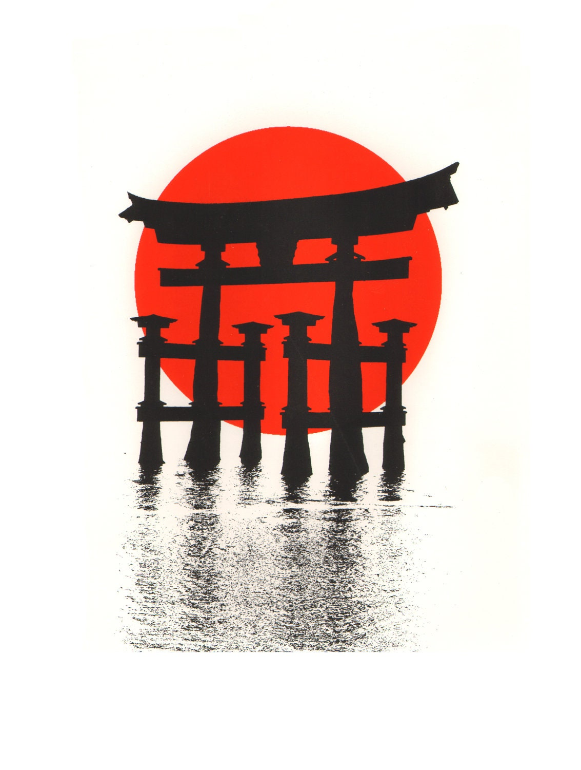 Shinto Shrine Drawing