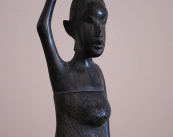 Old Handcarved Wooden STATUE from GHANA