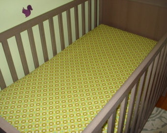 Baby or Toddler Crib Sheets - Made to order