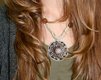 Tribal Magic hemp necklace