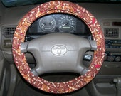 Gingerbread Steering Wheel Cover-Car Accessory-Car Wheel Cover-Car Decor-Auto Accessories