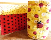 Lady bug  Crayon Roll-up for girls