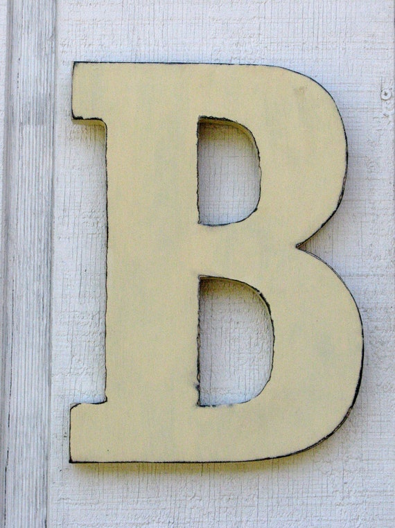 wooden letters rustic letter b home decor distressed painted free standing large wooden letters home decor kids ebay