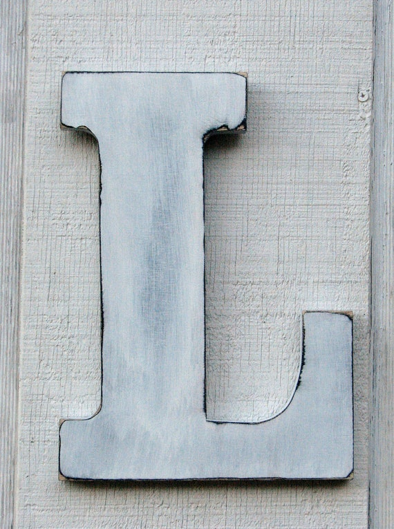 distressed wood letters big wooden letters wood rusticwall letter baby nursery decor 21380 | il 570xN.397145924 iunh