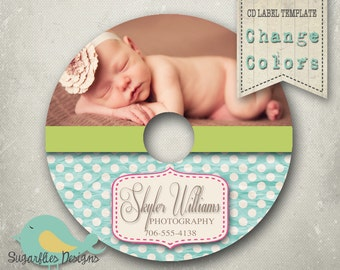 CD/Dvd Label PHOTOSHOP TEMPLATE  - dvd Label 12
