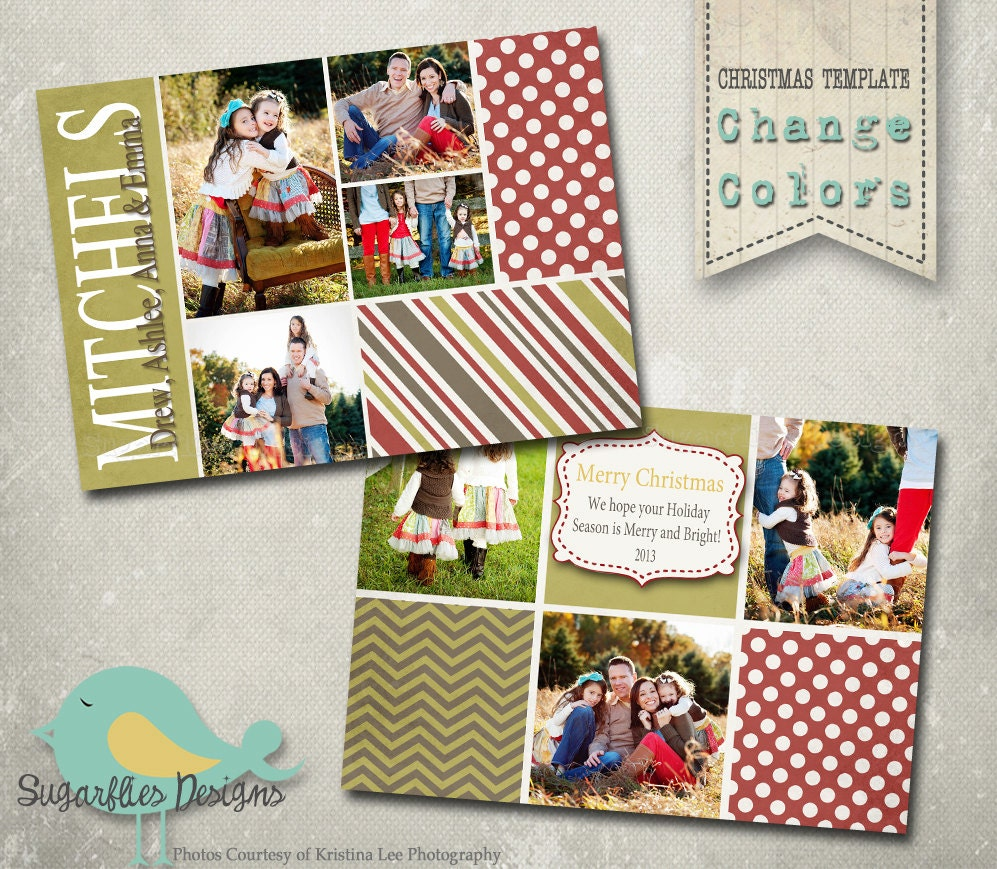 free christmas card templates for photoshop - christmas card photoshop template family christmas card
