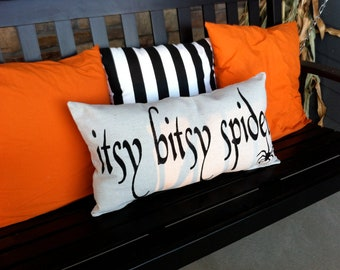 Itsy Bitsy Spider Pillow