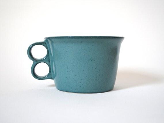 Bennington Potters Vermont Green Trigger cup/mug