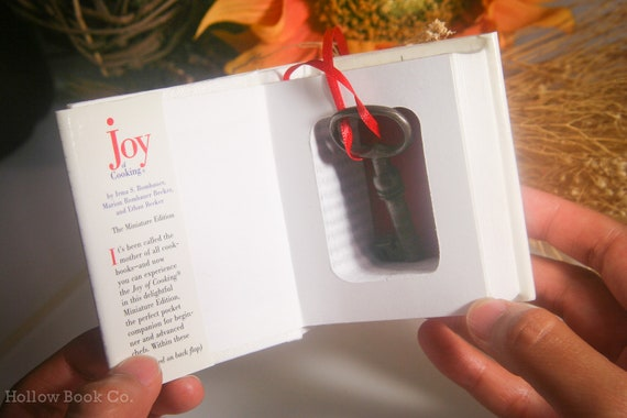 Mini Hollow Book Safe - The Joy of Cooking