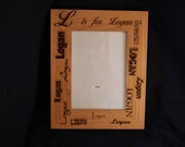 4 x 6 personalized photo frames