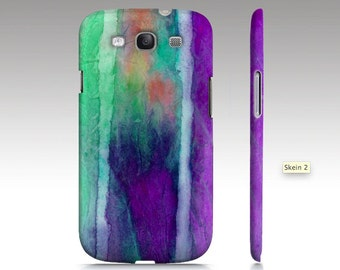 Samsung Galaxy s6 case, Galaxy S4 case, Galaxy S5 case, purple ombre watercolor design, abstract painting, texture art for your phone