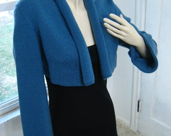 Cropped Roll Collar Jacket