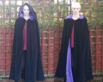 Velvet Cloak with full hood