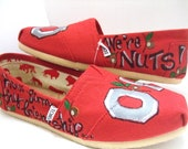 OHIO STATE Buckeyes Made to Order Custom TOMS