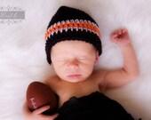 Black and Orange Team hat/Bengals hat