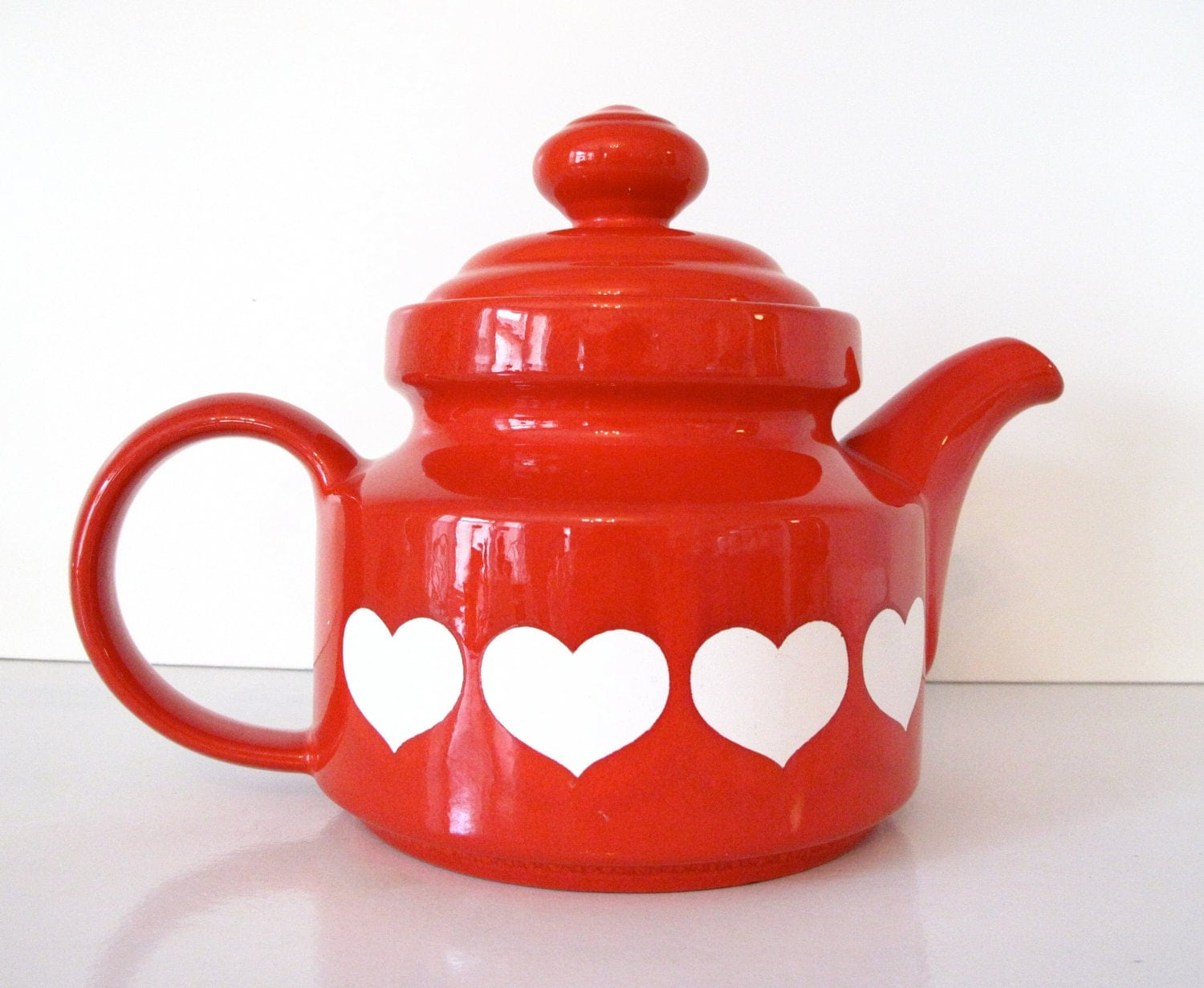Retro Waechtersbach W Germany Ceramic Teapot