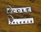 ADD-ON Custom Name Tag Silver Sports Necklace Football Baseball Hockey Basketball
