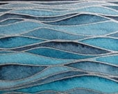 WAVES 3/ Watercolor seascape / Original wall art/ Hand painted watercolor/ Nautical artwork - TAKUSILVER