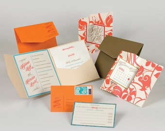 Wedding Invitation - Stephanie Collection
