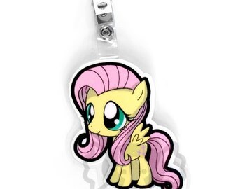 Fluttershy Chibi Badge