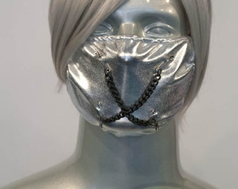 Silver J-Rock Surgical Mask