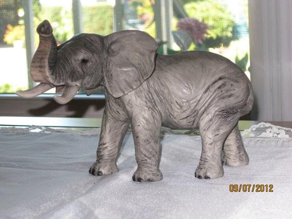 Vintage Original Costagna Elephant Sculpture - Item 14-1141