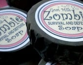 Zombie Survival Soap with Goat Milk, Free US Shipping