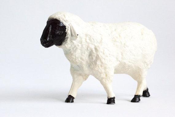 Cast Iron Sheep Penny Bank Piggy Bank