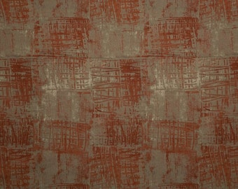 Marcia Derse - Basketweave Collection - Rusty Picnic Basket - 1/2 yard 100% cotton quilt fabric 516