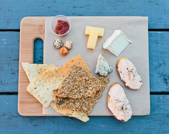Cheese Plate Food Photo Fine Art Print (8x10)