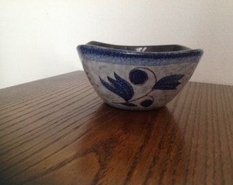 Vintage Germany ceramic art pottery bowl