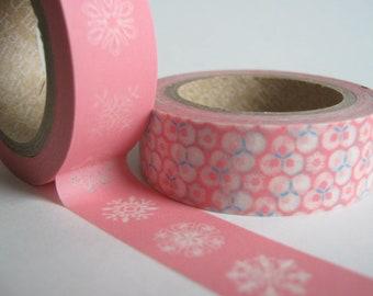 Peony Washi Tape Set