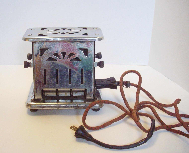 1920 Electric Toaster ~ Vintage toaster universal s art deco flip