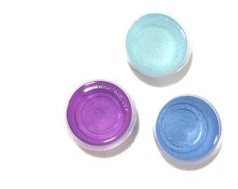Floral Scented Candle Melts, You Pick Sampler, Scent Shots, Gel Wax Tarts, Air Freshener, Modern Home Fragrance, Purple Blue Minimalist