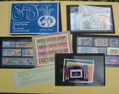 1977 Silver Jubilee of HM Queen Elizabeth II Mint Set of Commemorative Postage Stamps of the British Commonwealth