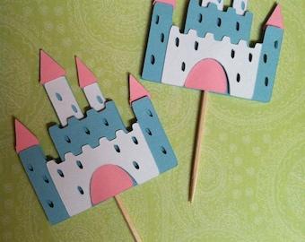 Princess Castle Toppers