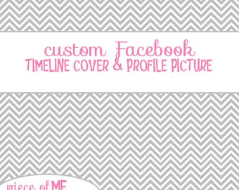 Custom Made to Your Liking Facebook Timeline Cover & Matching Profile Picture