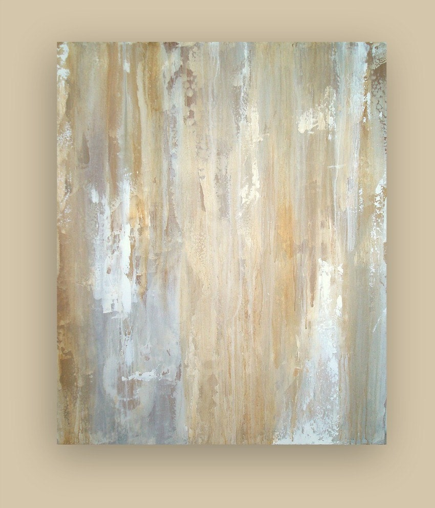 Large original abstract acrylic painting fine art on gallery for White canvas to paint