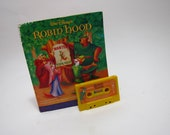 Vintage Robin Hood Book and Cassette Tape Oo De Lally The Phony King of Enland