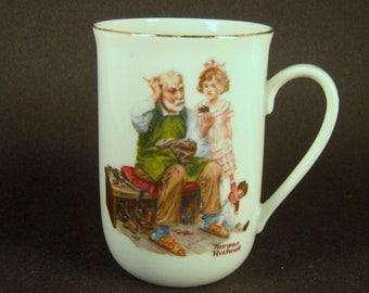 "Norman Rockwell Mug ""The Cobbler"""
