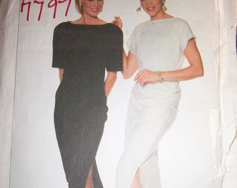 Vintage Simplicity Pattern 7797 FROM 1986 Jackie Rogers Designer size 6-8-10