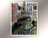 Venice Photo, Bridge in Venice, 8x10 by SnapCandyFoto on UpcycleFever