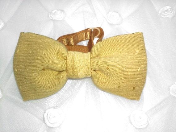 Golden little boys  bow tie