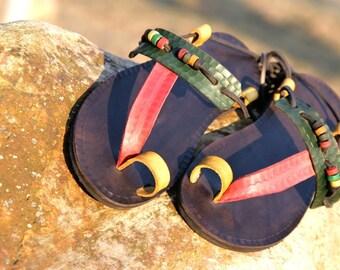 Leather Sandals - RASTA