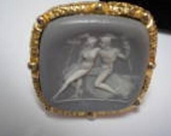 DANTE Lavender Museum Masterpiece Lovers Cuff Links     Item No: 16042  Rare