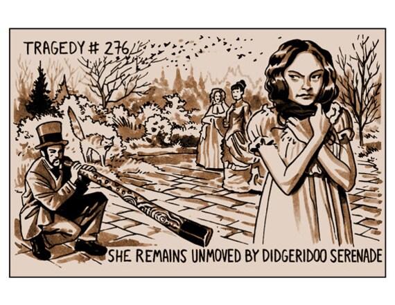 Tragedy 276: Didgeridoo Serenade Print